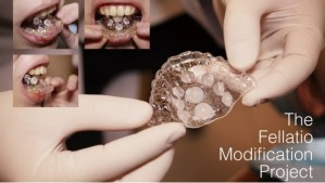 Dentista crea retenedor que mejora el sexo oral