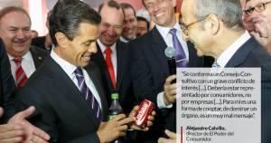 Y en el país obeso, Profeco suma a Coca Cola en su consejo; es una burla más de este Gobierno: ONG