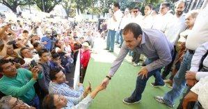 """En compañía de Bejarano, Cuauhtémoc Blanco arremete contra legisladores que """"quieren separarlo del cargo"""""""