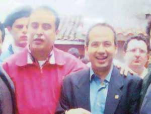 El clon de Calderón; Lionel sería un distractor para el 1 de diciembre de 2006