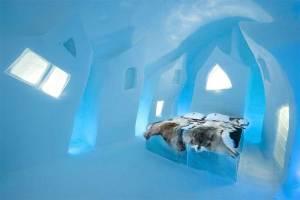 Conoce el Ice Hotel, un hotel de hielo para todo el año