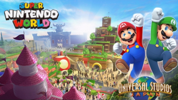 Así se verá el parque de diversiones de Nintendo