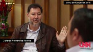 Entrevista con Gerardo Fernández Noroña; Hablando Netas