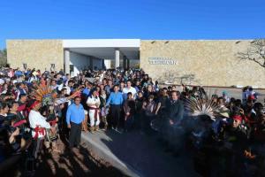 Rafa Moreno Valle Inaugura Museo de Sitio y Carretera Tehuacàn-Teotitlàn en Tehuacàn