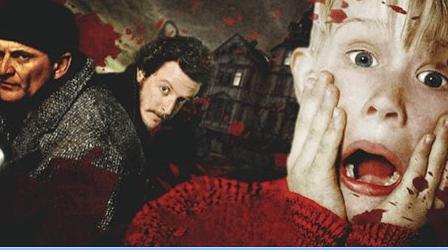 Solo en casa con sangre: así sería una versión más realista de Mi pobre angelito (VIDEO)