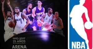 NBA por primera vez en doble cartelera: este jueves tendrá partidos en la CdMx y Londres