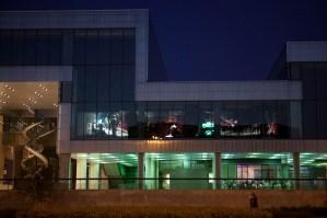 Theatre (2008), David Cotterrell, Media Facade, Museum of Contemporary Art, Zagreb (2011).