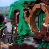 Hobbit in 72 Sekunden in LEGO