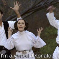 Rap-Battle: Leia vs. Galadriel