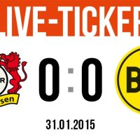 Live-Ticker: Bayer Leverkusen - Borussia Dortmund