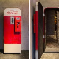 Getränkeautomat als versteckter Bar-Eingang