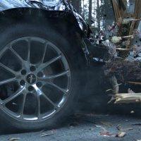 Entstehung eines CGI-Auto-Crashs
