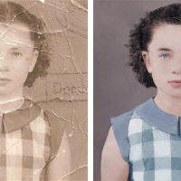 Timelapse: Foto-Restauration und -Colorierung