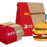 Bringt der McWhopper den Fast Food-Frieden?