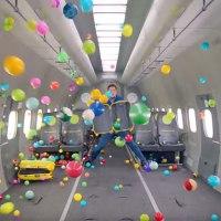 OK Go spielen mit der Schwerelosigkeit