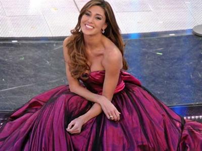 Belen Rodriguez Sanremo 2011 foto