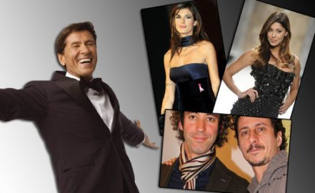 i conduttori di Sanremo 2011 foto