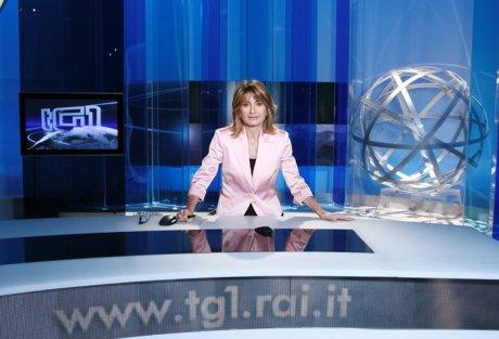Conduttrice TG1 Foto