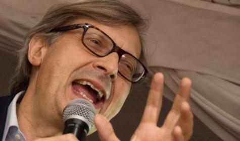 Vittorio Sgarbi debutta il 27 aprile su Raiuno Foto