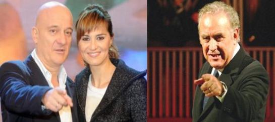 Zelig e Annozero Michele Santoro Ascolti Tv Foto