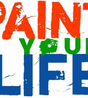il logo di paint your life programma di real time