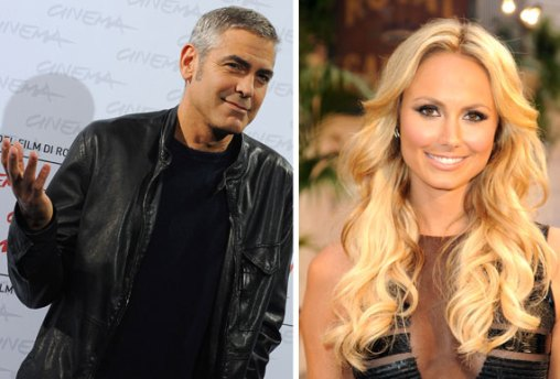 George Clooney e Stacy Keibler Foto