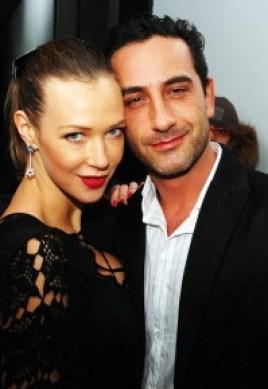 Foto della iena Matteo Viviani e l'ex showgirl Ludmilla Redchenco