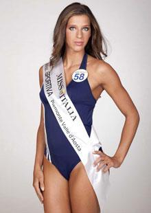 Foto Miss 58 Giulia Calcaterra riammessa alla finale