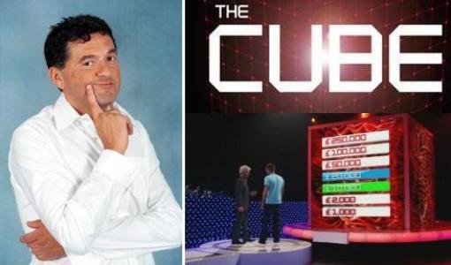 The Cube Teo Mammucari Italia1 Foto