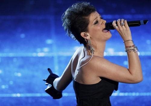 Alessandra Amoroso a Ti lascio una canzone