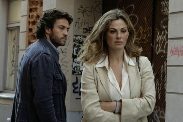 Vanessa Incontrada e Alessio Boni ne I cerchi nell'acqua