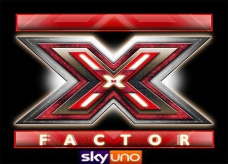 Foto logo X Factor 5 su Sky Uno