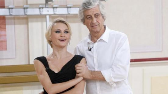 Gianni Rivera con la sua maestra di ballo
