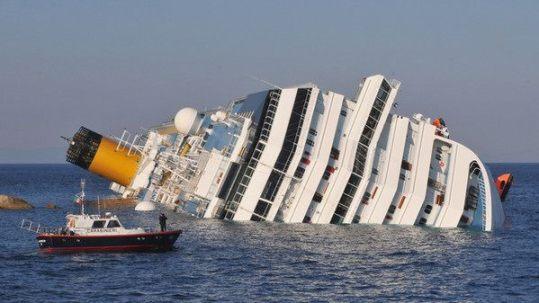 Costa Concordia affondata a Isola del Giglio