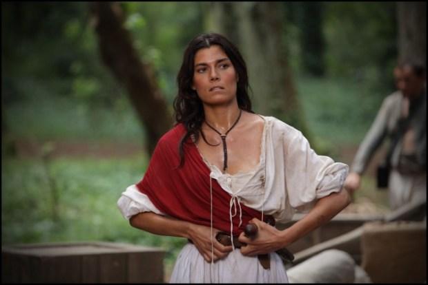 Foto Valeria Solarino nei panni di Anita Garibaldi