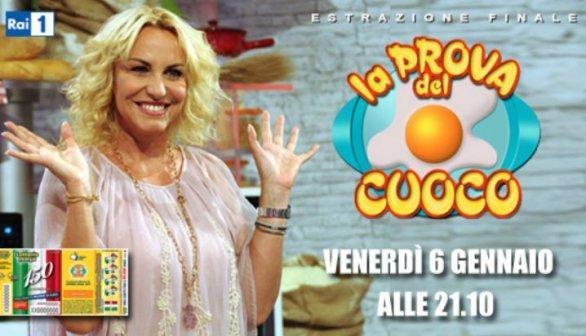 Foto Antonella Cleirci La prova dle cuoco speciale Lotteria