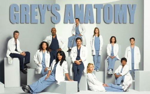 foto cast grey's anatomy