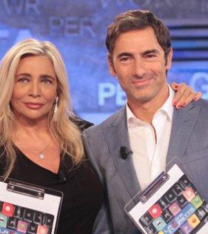 Mara Venier e Marco Liorni in una foto da La vita in diretta