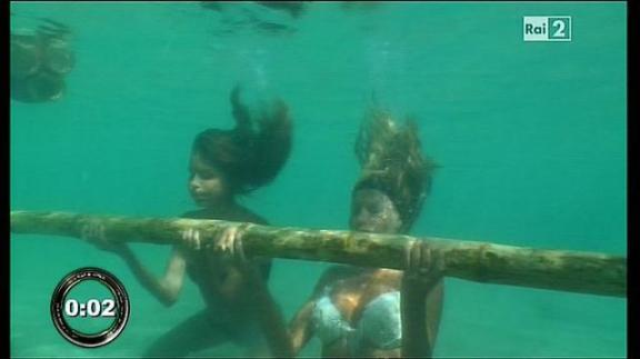 Isola dei Famosi Marini Leader Apnea