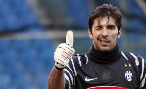Il portiere della Juventus Gianluigi Buffon