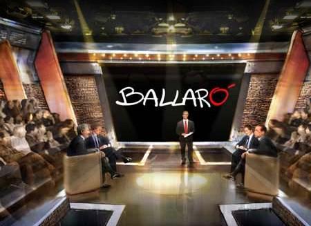 La trasmissione di Ballarò condotta da Giovanni Floris