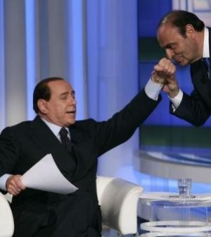 Berlusconi-Vespa