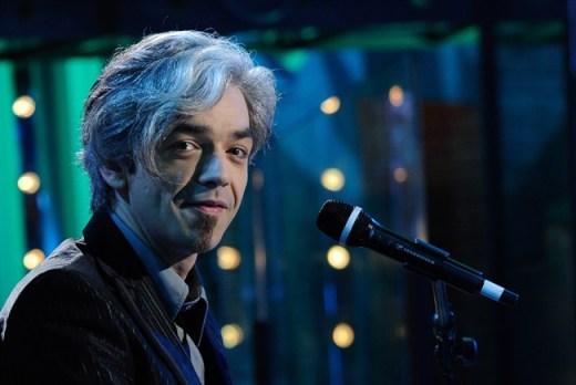 Il cantante Marco Castoldi Morgan