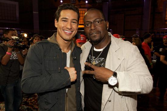 Mario Lopez e Randy Jackson di ABDC