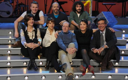 The show must go off il cast artistico