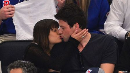 lea michele e cory monteith bacio