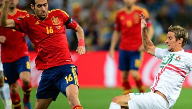 Spagna-Portogallo vince la serata
