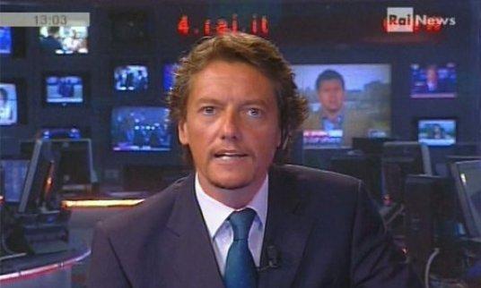 Baracchini: coming out in diretta tv su Rainews