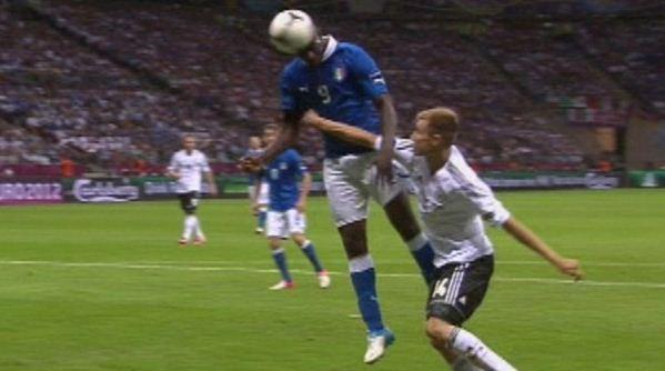 Foto di Balotelli italia euro 2012