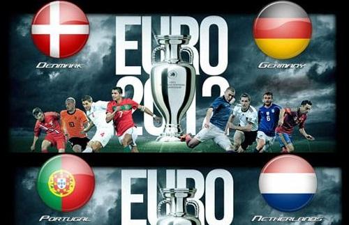 Foto di danimarca-germania e portogallo-olanda  Euro 2012